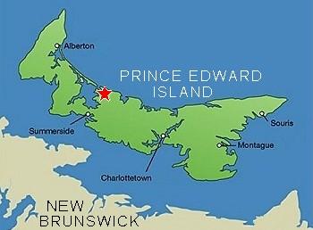 Confederation Bridge Map Www Pixshark Com Images